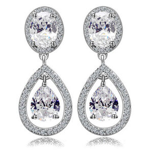 2 Layer Signature Tear Drops LRB Earrings