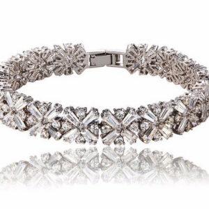 Stephanie Flower Cluster LRB Bracelet