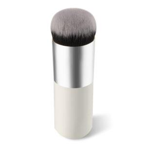 White Short Stick Flawless Foundation Brush-1