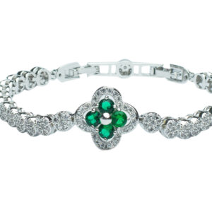 Green Clover FIne Jewellery Bracelet